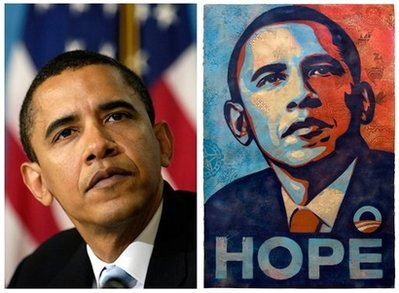 CORRECTION Obama Poster